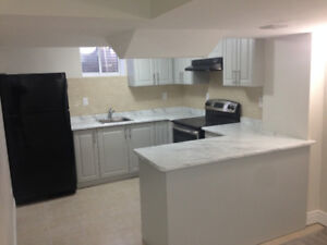 New contructed 2 bedroom basement for rent available from Sep 1,