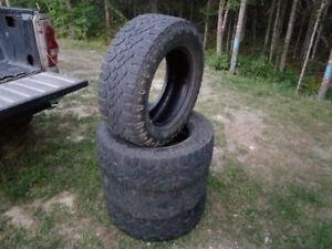 275/65r18 Goodyear duratrax tires