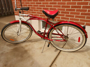 Red Cruiser - Classic Bicycle