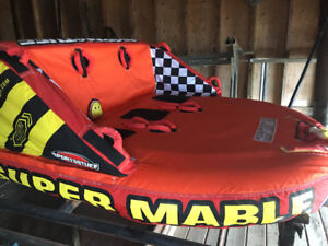 Super Mable , 3 Person ,Towable water sport tube