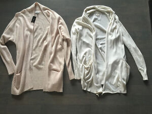 Aritzia - medium - cardigan sweaters  $50 each