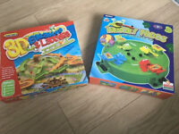Hungry Frogs and 3D Snakes & Ladders