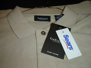 "BRAND NEW WITH TAGS MENS LARGE ""VAN HEUSEN"" GOLF SHIRT London Ontario image 2"
