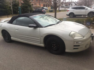 2003 MITSUBISHI ECLIPSE SPYDER SELLING AS IS