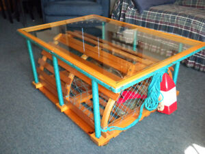 Antique Lobster Trap Coffee Table.