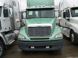 2008 FREIGHTLINER COLUMBIA DAY CAB - DEALER CERTIFIED WARRANTY