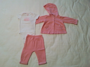 Baby Girl 6-9 Month Clothes - Fall/Winter/Spring