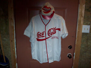 Vintage Coca Cola shirt and hat