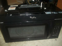 New Stove, Fridge, overhead microwave-Used stove,dishwasher etc