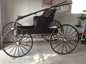 BUGGY, ANTIQUE, RESTORED to NEW CONDITION---NOW-$1200