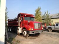 Location camion -benne 12 roues / 10 roues