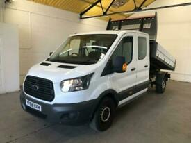 2018 Ford Transit 2.0 350 EcoBlue Double Cab Chassis Cab RWD L3 H1 EU6 4dr (DRW)