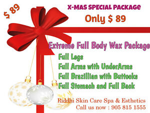 Massage,Waxing cristmas Gift Card/Certificate**Free delivery** Cambridge Kitchener Area image 4