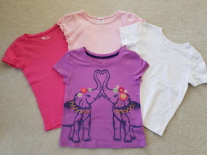 4pcs T-shirt lot 5 years