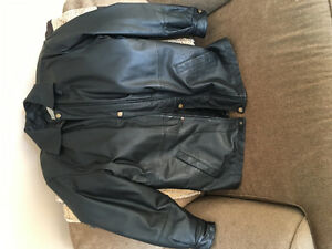 Men's 100% genuine leather jacket Stratford Kitchener Area image 1