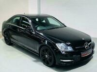 MERCEDES-BENZ C-CLASS C250 CDI AMG SPORT PLUS + AUTO 4 DOOR W204 2013 BLACK C220