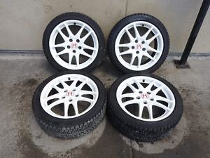 JDM Honda Civic Type R EP3 17 inches OEM Wheels Rims and Tires K