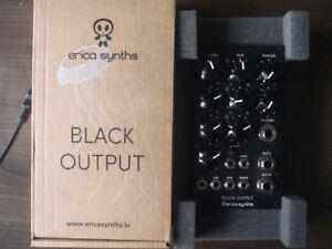 Erica Synths Black Output v2 (eurorack)