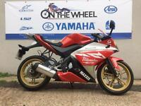 2010 YAMAHA YZF-R125 RED/ WHITE, RIDE AWAY TODAY! VERY GOOD CONDITION!