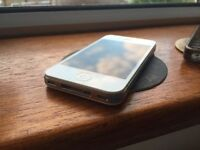 iPhone 4S White 16GB in perfect working condition. Comes w/ case only. Locked on EE