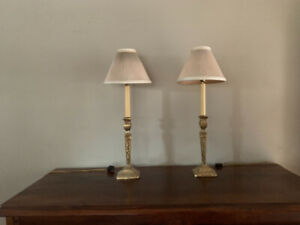 Beautiful Solid Brass Desk Lamps