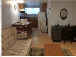 FULLY FURNISHED STUDENT ONE BEDROOM APARTMENT