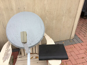 Bell Expreesvu receiver and dish
