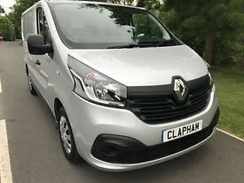 2015 15 RENAULT TRAFIC SL27 BUSINESS+ 1.6DCI 115BHP SILVER AIR CON 1 OWNER
