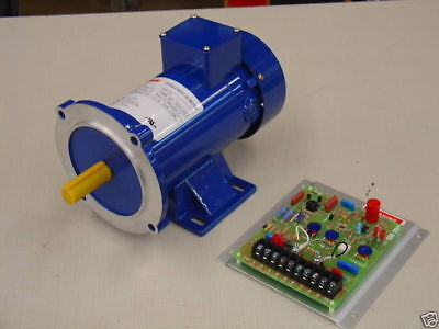 34 Hp 180 Vdc Dc Motor And Variable Speed Control