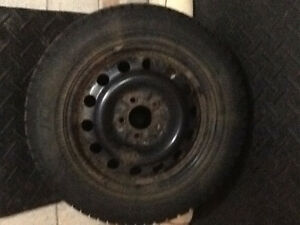 Steel rims with winter tires will fit Camry 2007 - 2016 Kitchener / Waterloo Kitchener Area image 1