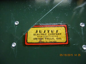 Old Justus Cash Box London Ontario image 2