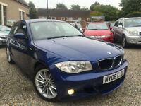 ✿06-REG BMW 1 SERIES 118D M SPORT, BLUE, 120D, ✿DIESEL ✿NICE EXAMPLE✿