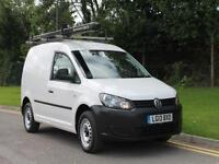 2013 VW CADDY C20 TDI LOW MILES IN WHITE