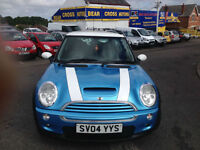 2004 MINI COOPER SPORT S SIX 6 SPEED BLUE