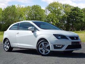 SEAT Ibiza 1.4 TSI ACT FR SportCoupe 3dr (white) 2014