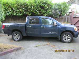 2006 NISSAN TITAN LE 4X4 CREW CAB - Great Work Truck