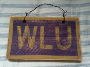 Wilfrid Laurier Wall Sign
