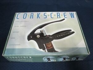 Corkscrew - Deluxe black rabbit-like lever model (New) Kingston Kingston Area image 1