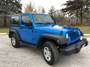 2015 Jeep Wrangler Sport with Extended Warranty!