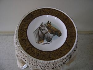 SOLIAN WARE, SIMPSONS POTTERS ENGLISH CHINA HORSE PLATE
