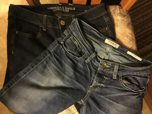 Brand name jeans - almost new