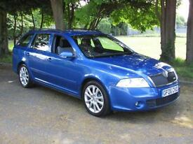 Skoda Octavia 2.0T FSI vRS Estate***STUNNING CAR***FULLY LOADED***