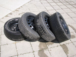 VW Winter Rims and Tires (used)