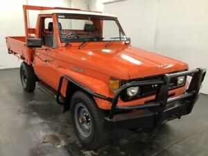 1987 Toyota Landcruiser HJ75RP (4x4) Red 5 Speed Manual 4x4 Cab Chassis