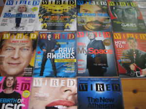 WIRED magazines