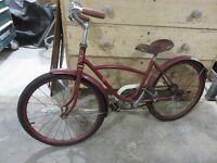 VINTAGE MAJESTIC YOUTH BIKE ALL ORIGINAL 1950'S asking $95 or be
