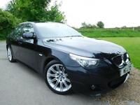 2009 BMW 5 Series 520d M Sport 4dr [177] Sat Nav! Heated Seats! 4 door Saloon