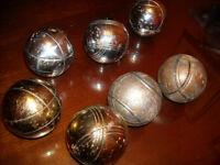 PETANQUE BALS (3) used