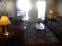 WOW--furnished 1 bedroom apt, includes utilities, cable,internet