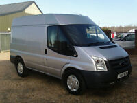 Ford Transit 330 SWB SEMI HIGH ROOF 110PS AIR CON IN SILVER